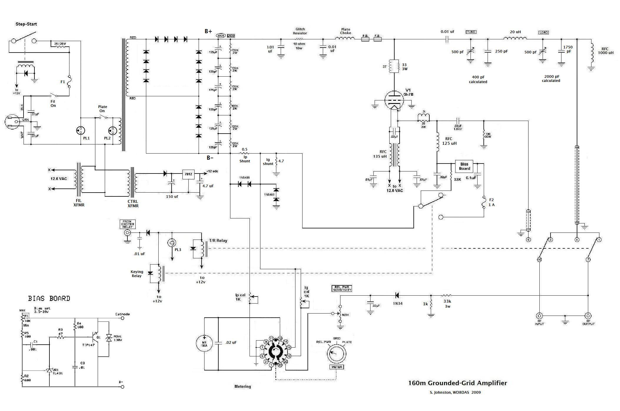 12 Vdc Tube Amp Schematics Electrical Wiring Diagrams Diagram Gi 7b Schematic Circuit Symbols U2022 4 Watt